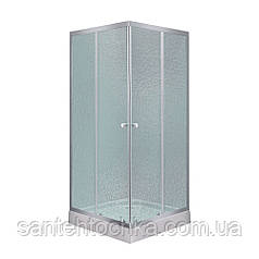 Душова кабіна Lidz Wawel SC80x80.SAT.LOW.FR Frost