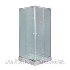 Душова кабіна Lidz Wawel SC90x90.SAT.LOW.FR Frost