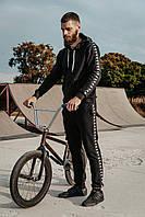 Спортивный костюм комплект мужской Kappa Черный