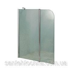 Штори на ванну Lidz Brama SS120x140L.CRM.FR Frost