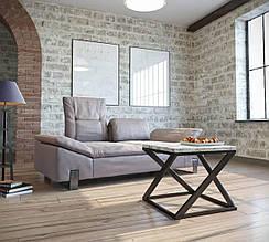 Столы журнальные в стиле лофт Бент Металл-Дизайн / Metall Design