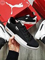 Мужские кроссовки Puma MATCH Черные, Реплика