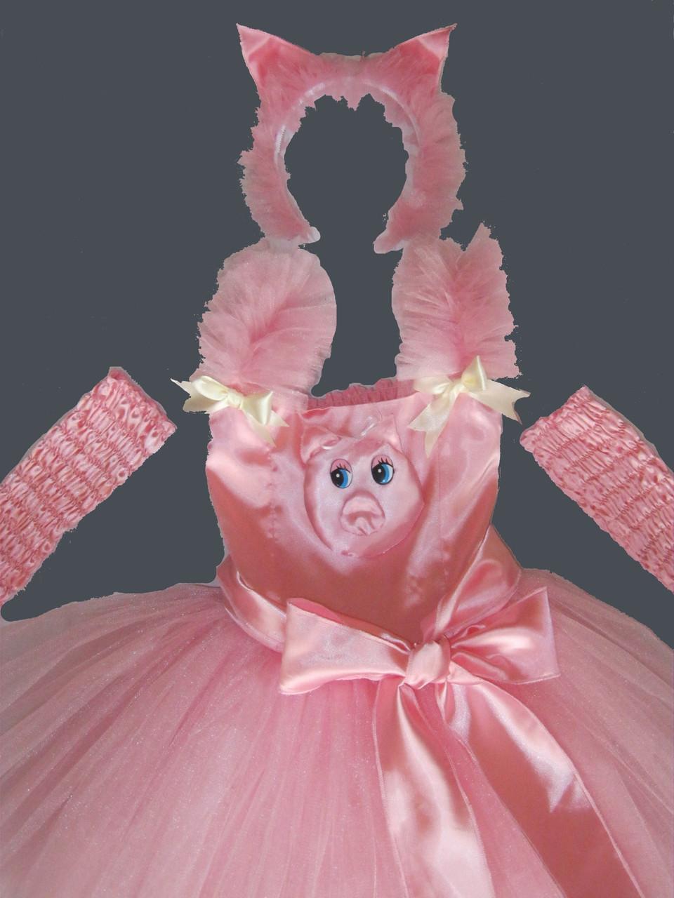 Прокат карнавальный костюм Свинка для девочки р. 110-128см