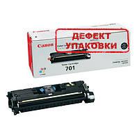 Canon 701 Картридж (9287A003_DU) Black (Черный) дефект упаковки