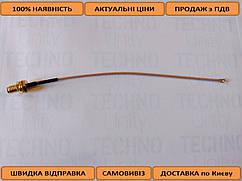 Антенний перехідник (pig-tail, пігтейл) uFL to SMA ACSMAUFL