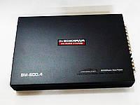 Автомобильный усилитель звука 4х канальный Boschman BM Audio BM-600.4 8000W