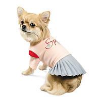 """Pet Fashion Костюм для девочки """" СПЕЙС """" XS, фото 1"""