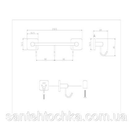 Крючок Lidz (CRM) 116.08.03, фото 2