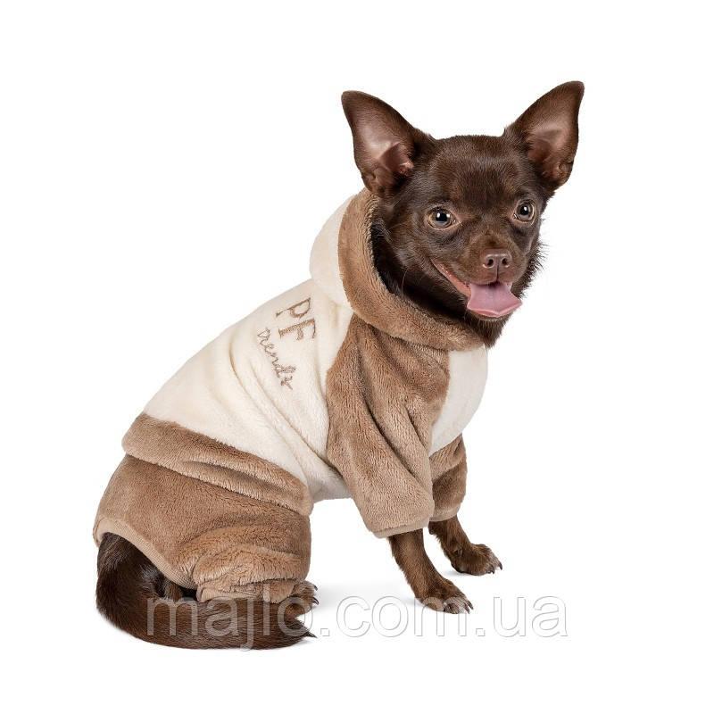 "Pet Fashion Костюм ""ALF"" молочно-коричневый S"