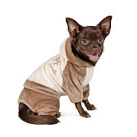 "Pet Fashion Костюм ""ALF"" молочно-коричневый S, фото 1"