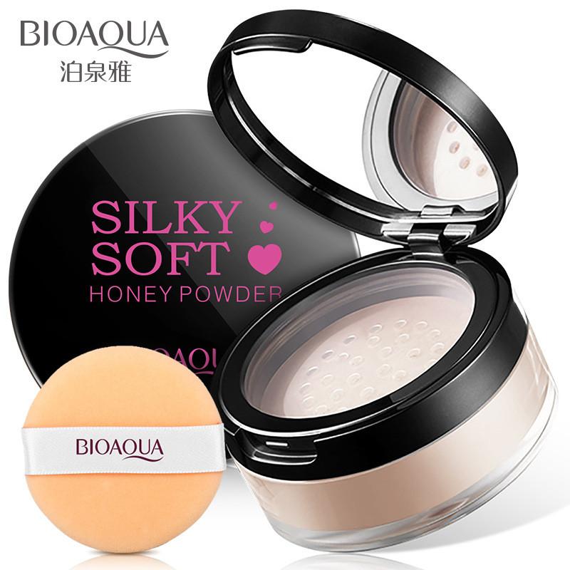 Пудра рассыпчатая Bioaqua Silky Soft Honey Powder, 15г