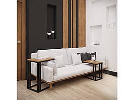 Столы журнальные в стиле лофт Кофе Брейк 2 в 1 Металл-Дизайн / Metall Design