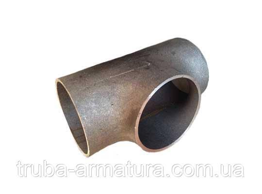 Трійник сталевий приварний Ду 80 (89х3,5), фото 2