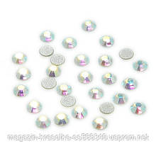 Стразы для декора ногтей - Crystal AB (хамелеон) SS3, 100 шт/уп.