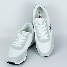 Кроссовки для женщин демисезонные Artin р.36-41 белые с серым