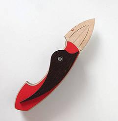 Деревянный нож бабочка №30