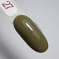 Гель лак Edlen Color №027 оливковый 9 мл