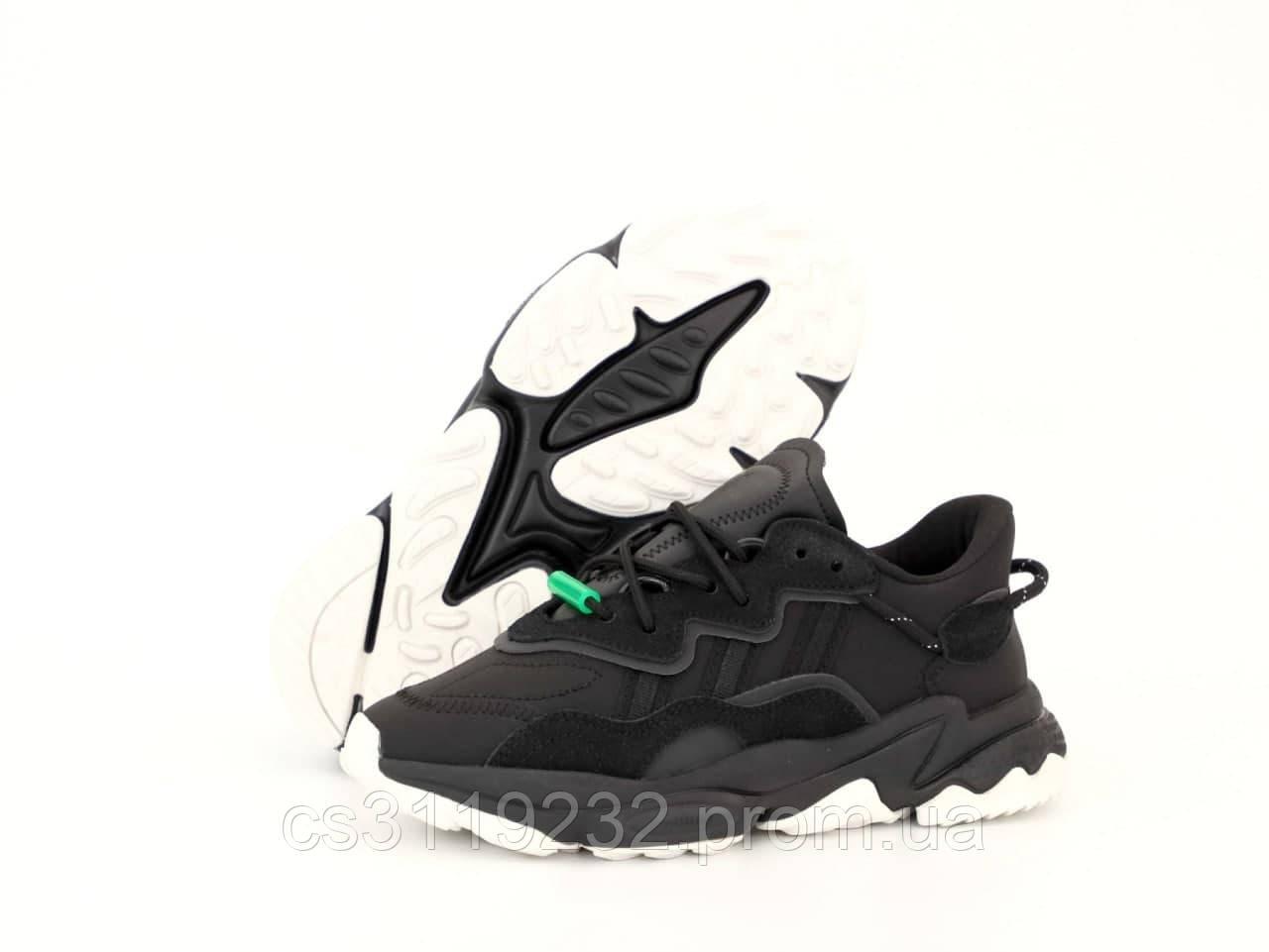 Мужские кроссовки Adidas Ozweego (черный)