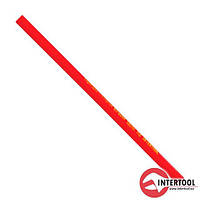 Олівець столярний (12шт) InterTool L-180мм