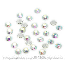 Стразы для декора ногтей - Crystal AB (хамелеон) SS5, 100 шт/уп.