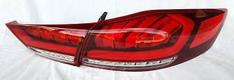 Фонари Hyundai Elantra AD (16-20) тюнинг Led оптика (вариант 2)