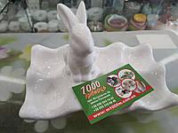 Підставка для яєць керамічна на 6 яєць, зверніть увагу на дефекти, фото 1