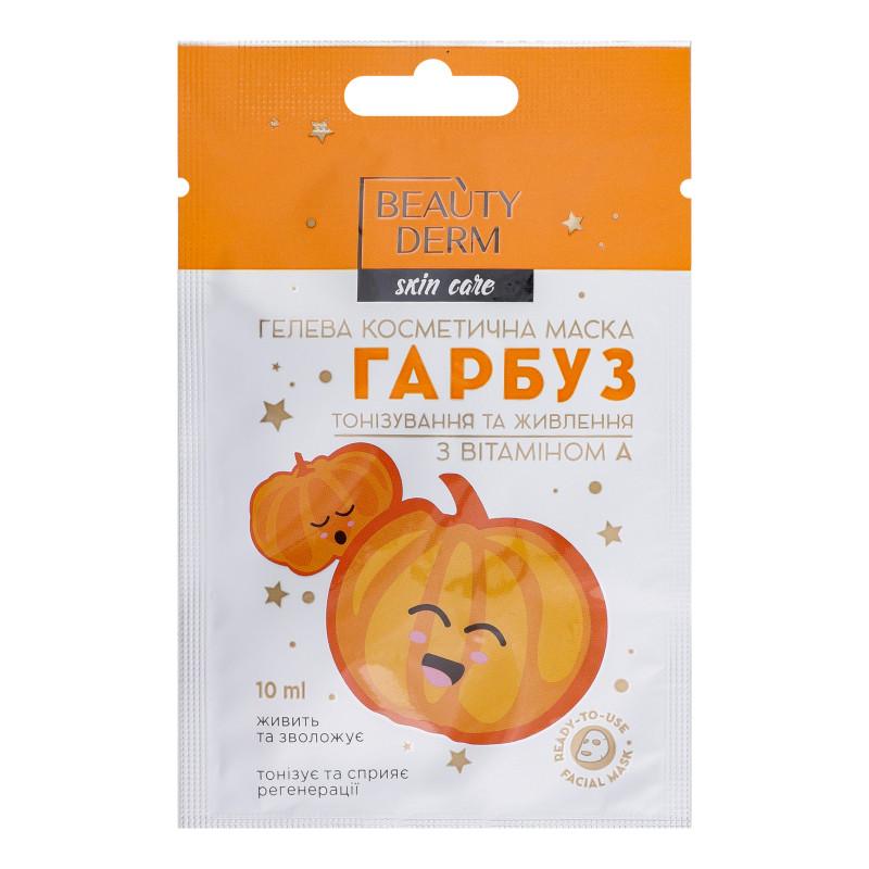 Гелевая маска для лица Beauty Derm Тыква с витамином А 10 мл