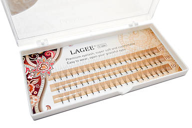 Ресницы Lagee пучковые - 3, 4, 5 D