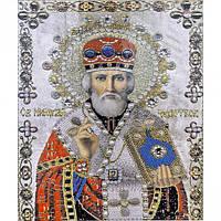 Алмазная мозаика 30х40 см DIY Св. Николай Чудотворец (SM 71199)
