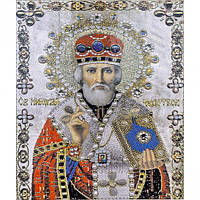 Алмазна мозаїка 30х40 см DIY Св. Микола Чудотворець (SM 71199)