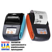 Портативний Bluetooth термопринтер для смартфона PeriPage GZM5811, 203dpi + чохол для носіння