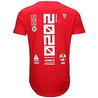 Футболка мужская красная FABRIC OF THE UNIVERSE # 2 Ф-11 RED L(Р) 21-822-020