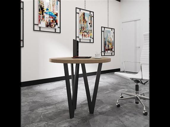 Столи обідні в стилі лофт Ві 3 ноги Метал-Дизайн / Metall Design, фото 2
