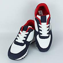Кроссовки для женщин демисезонные LaVento р.36-41 белые с синим