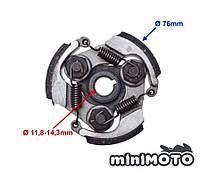 Зчеплення (колодки, муфта) мінімото, дитячий мотоцикл і квадроцикл, mini atv 3-колодочне (алюміній)