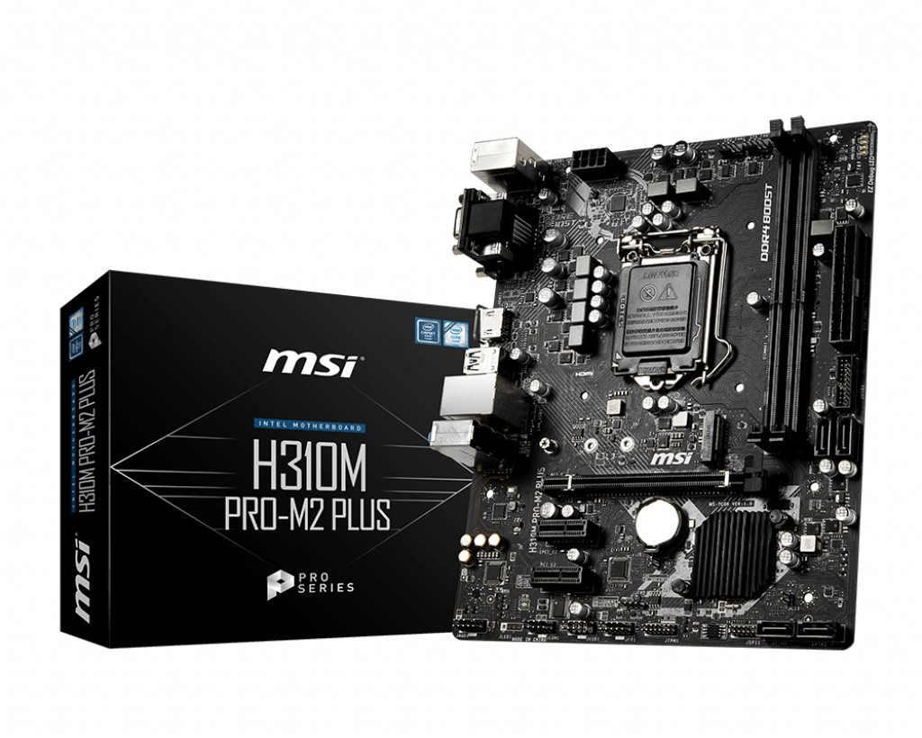 Материнская плата MSI H310M PRO-M2 Plus Socket 1151