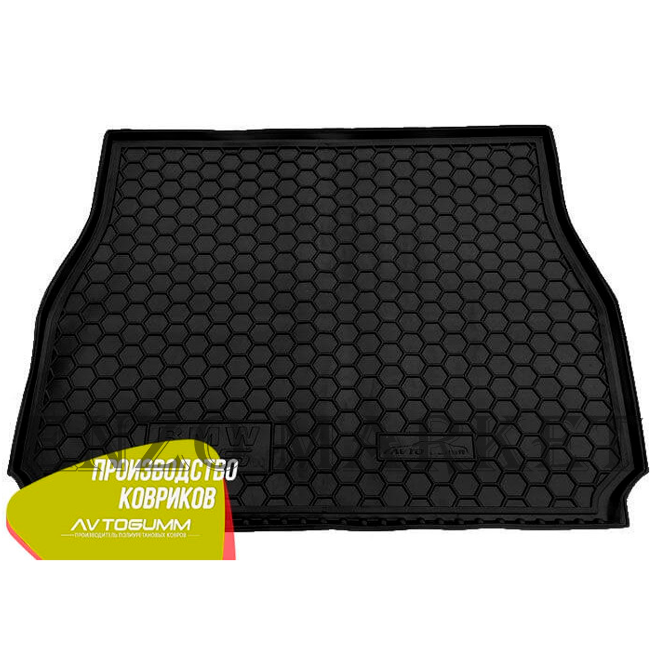Автомобільний килимок в багажник BMW X5 (E53) 2000- (Avto-Gumm)