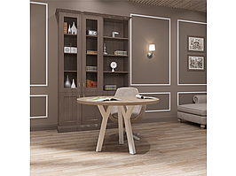 Столи обідні в стилі лофт Уно 3 ноги Метал-Дизайн / Metall Design