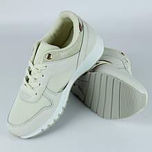 Кроссовки для женщин демисезонные LaVento р.36-41 бежевые