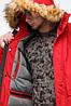 Молодежная мужская красная зимняя парка с карманами модель 25690 (ОСТАЛСЯ ТОЛЬКО 48(M)), фото 5