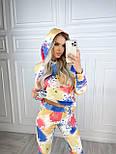 Яркий костюм женский спортивный из турецкой двунити, фото 4