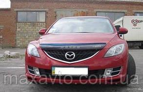 Мухобойка, дефлектор капота Mazda 6 с 2008-2012 г.в.