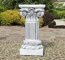 Садова колона кругла мала 66х35х35 см