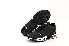 Мужские кроссовки Nike Air Max TN Plus 3. Black. ТОП реплика ААА класса.