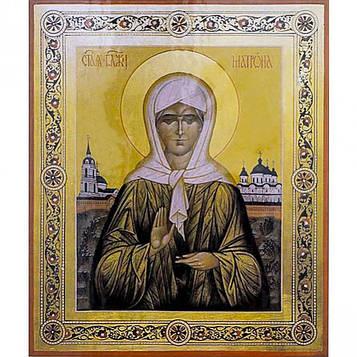 Алмазная мозаика 30х40 см DIY Матрона Святая Блаженная Московская (SM 71222)