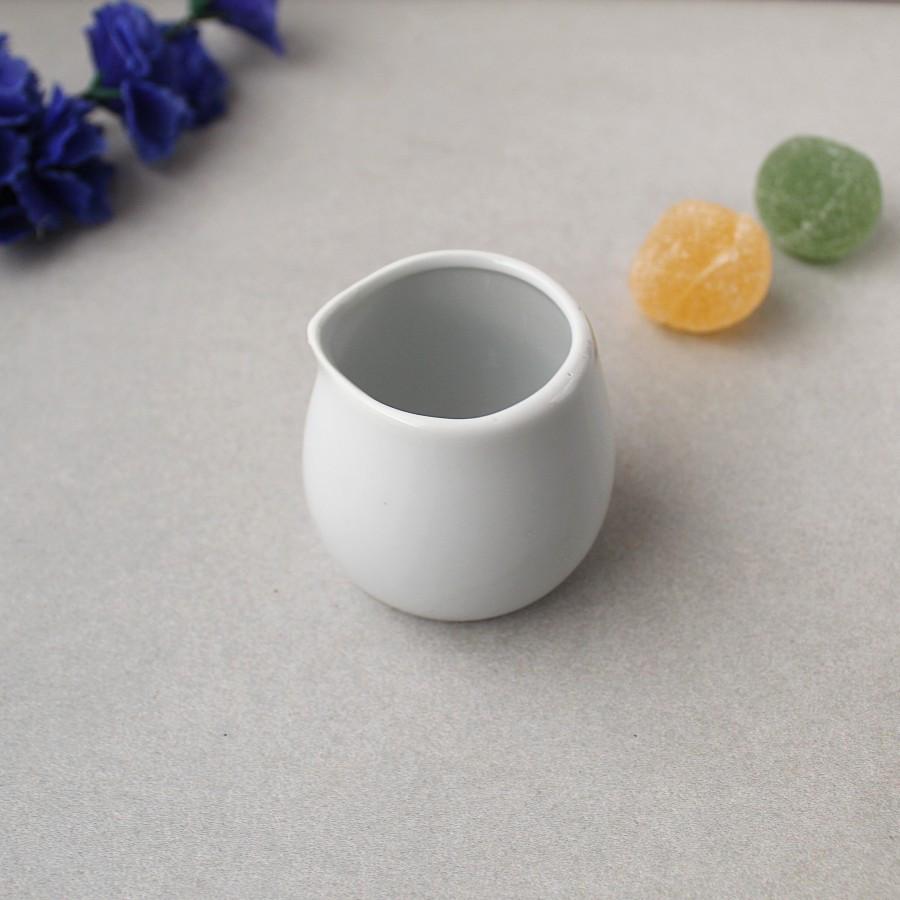 Молочник фарфоровый без ручки HLS 90 мл (HR1544)