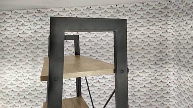 Стеллажи в стиле лофт Стелаж 5 полок Металл-Дизайн / Metall Design, фото 3