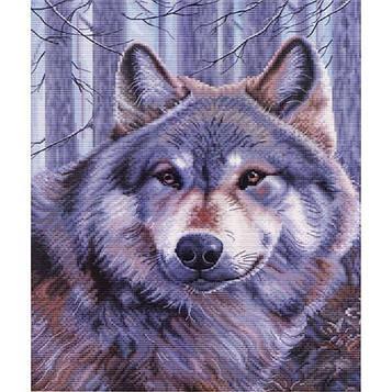 Алмазная мозаика 30х40 см DIY Волк (SM 74693)