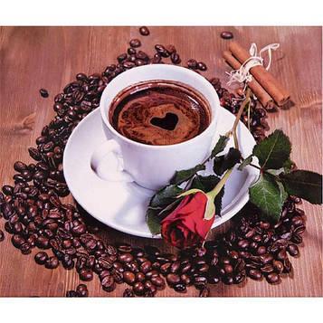 Алмазная мозаика 30х40 см DIY Приглашение на кофе (SM 74982)