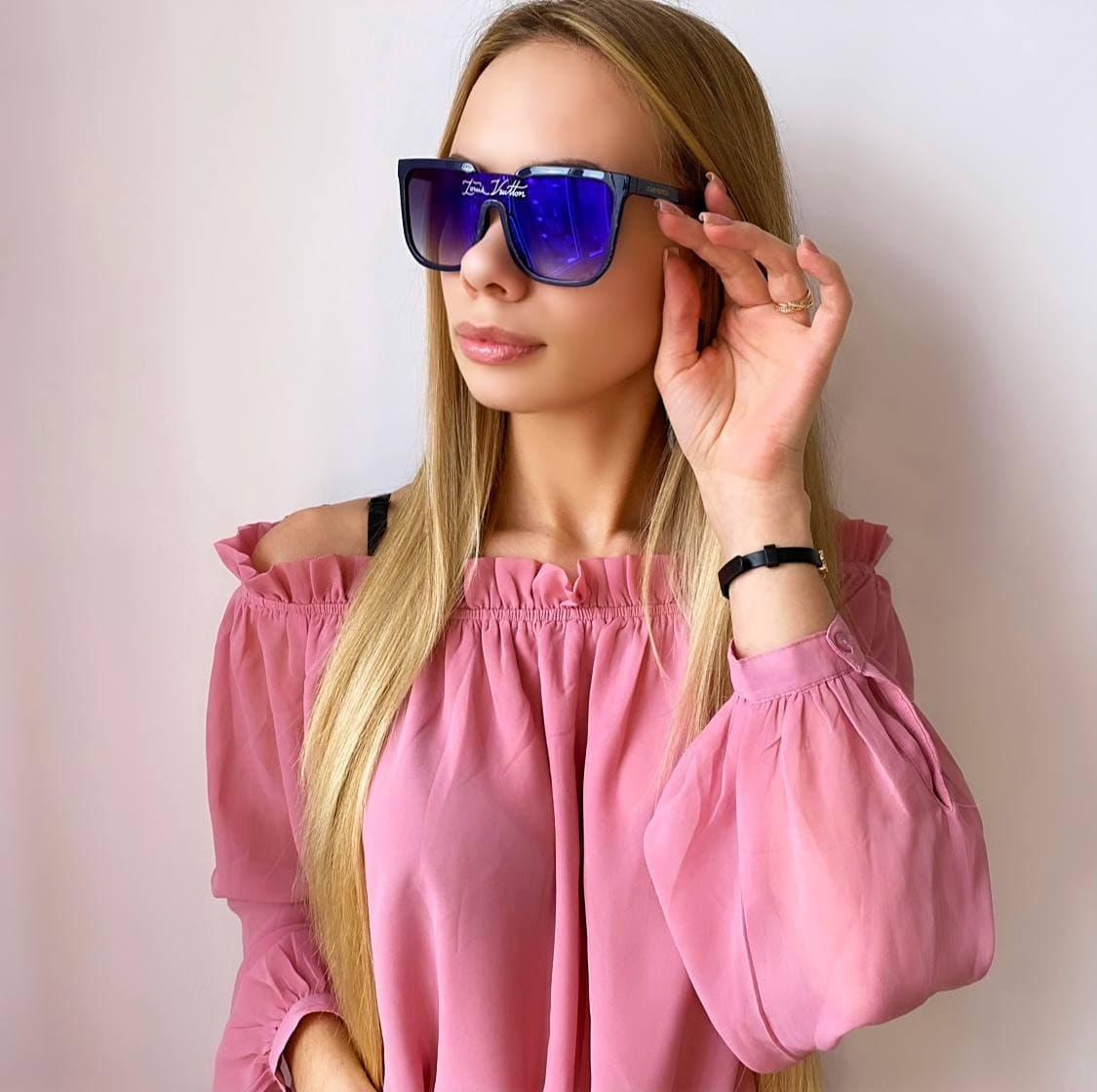 Женские  солнцезащитные очки хамелеоны